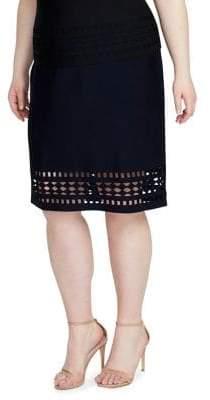 Rachel Roy Plus Frankie Knit Skirt