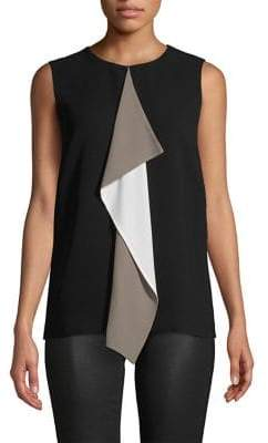 Max Mara Embroidered Sleeveless Top