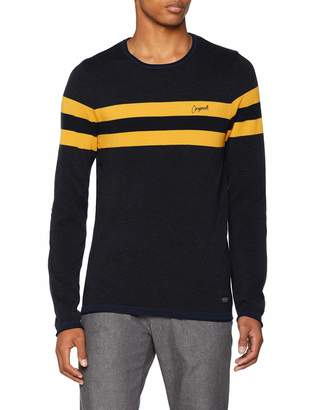 Jack and Jones Men's Jorlabour Knit Crew Neck Jumper