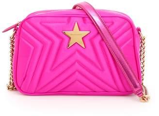 Stella McCartney Quilted Satin Stella Star Bag