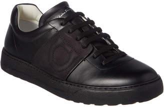Salvatore Ferragamo Leather & Suede Sneaker