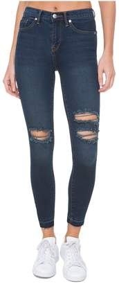 Juicy Couture Denim Star Wash Core Mid-Rise Skinny Jean