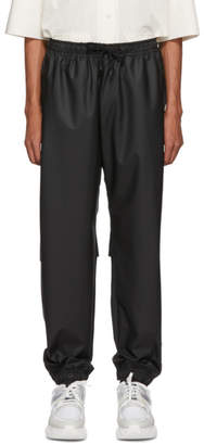 Fendi Black Coated Bag Bugs Lounge Pants