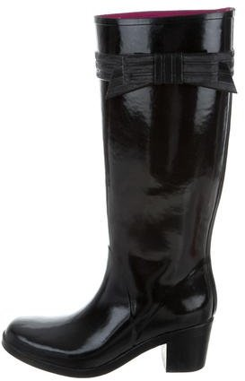 Kate Spade New York Bow-Accented Rain Boots