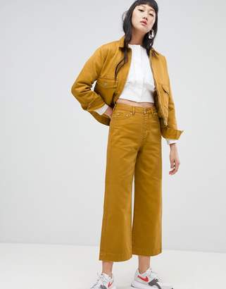 Weekday Veer Wide Leg Jeans Co-ord
