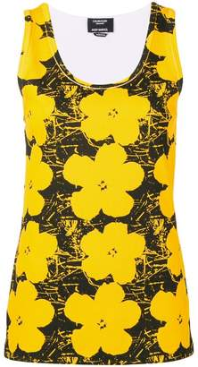 Calvin Klein x Andy Warhol Foundation floral print tank top