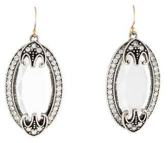 Lulu Frost Crystal Earrings $95 thestylecure.com