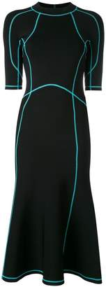 Alexander Wang lace-up scuba dress
