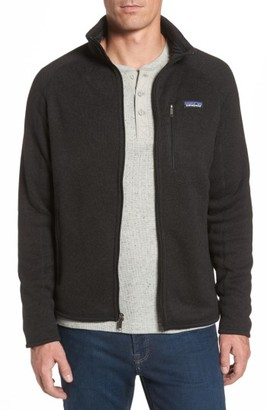 Men's Patagonia Better Sweater Zip Front Jacket $139 thestylecure.com