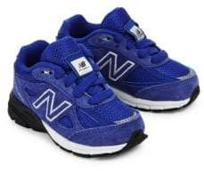 New Balance Baby's Lace-Up Leather Sneakers