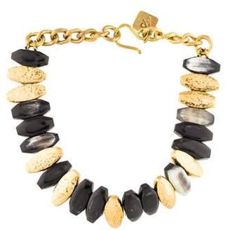 Ashley Pittman Horn Collar Necklace