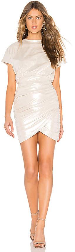 About Us Eve Metallic Mini Dress
