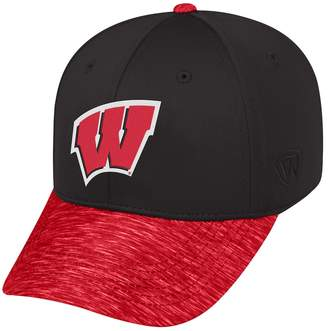 Top of the World Adult Wisconsin Badgers Lightspeed One-Fit Cap