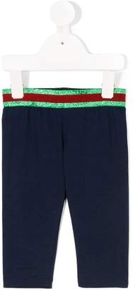 Gucci Kids web detail leggings