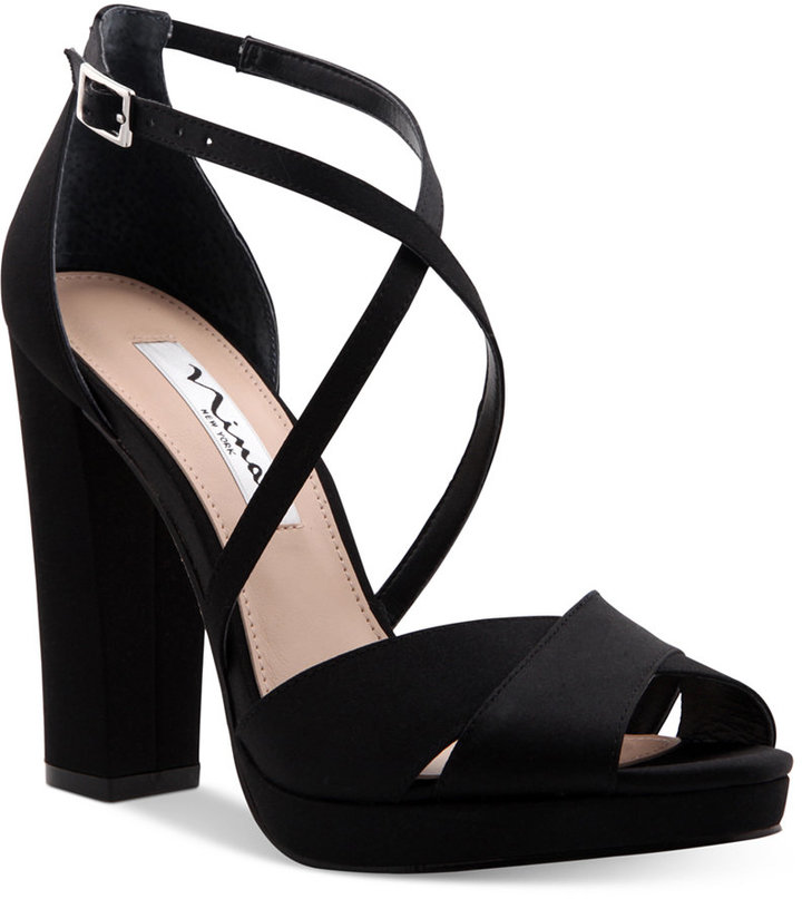 Nina Marylyn Platform Evening Sandals Women's Shoes
