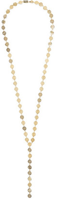Arme De L'Amour - Dot And Stripe Gold-plated Necklace - one size $300 thestylecure.com
