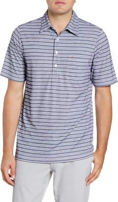 Criquet Players Regular Fit Stripe Pique Polo