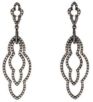 Loree Rodkin 18K Diamond Drop Earrings