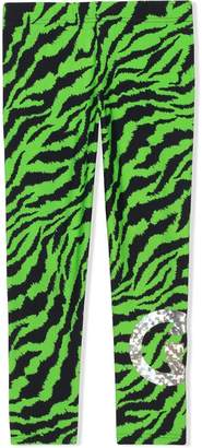 4753c07376f089 Gucci Kids Children's fluorescent zebra print leggings
