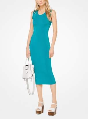 MICHAEL Michael Kors Ruffled Stretch-Viscose Dress