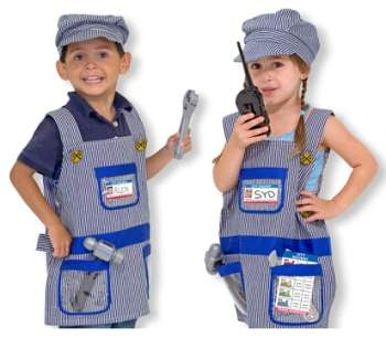 Melissa & Doug Toddler Boy's 'Train Engineer' Costume