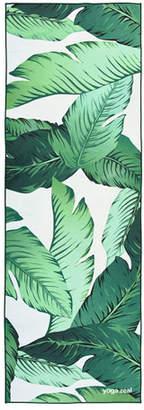 Yoga Zeal Banana Leaf Printed Yoga Towel