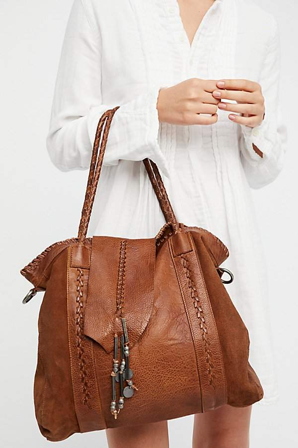 Isle Distressed Tote by Free People