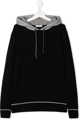 Paolo Pecora Kids TEEN colour block hoodie