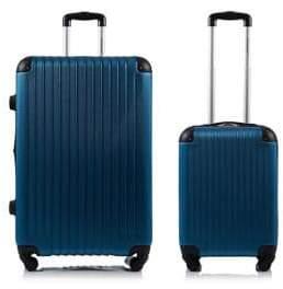 Champs Two-Piece Tourist Hardshell Luggage Set