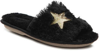 Kensie Sequin Stars Slipper - Women's