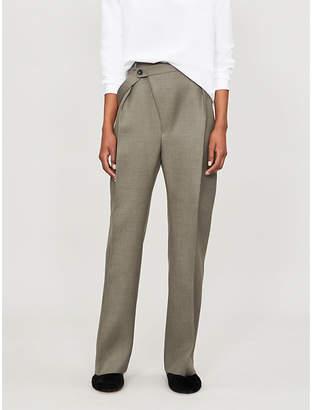 Jil Sander Floyd straight wool trousers