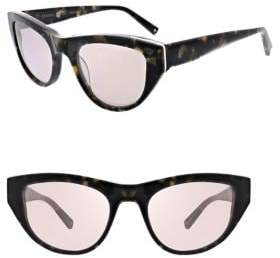 KENDALL + KYLIE Sienne 52MM Cat Eye Sunglasses