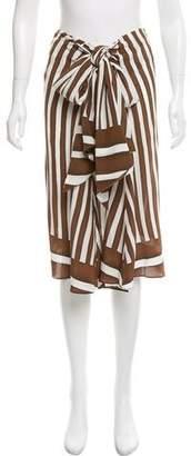 Tome Draped Silk Skirt w/ Tags