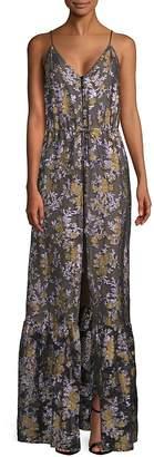 Lanvin Women's Embroidered Maxi Dress