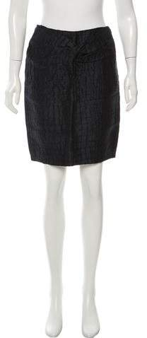 3.1 Phillip Lim 3.1 Phillip Lim Textured Linen Mini Skirt