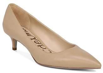 Sam Edelman Women's Dori Pointed Toe Kitten Heel Pumps