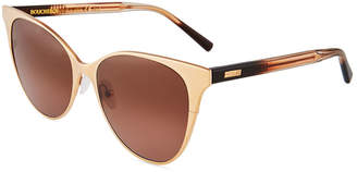 Boucheron Cat-Eye Metal Sunglasses