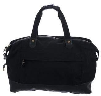 Rag & Bone Leather-Trimmed Duffel Bag