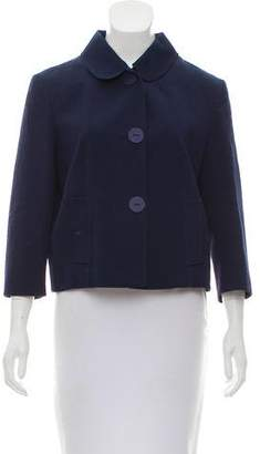 Fendi Textured Button-Up Jacket