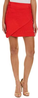 Maje Ribbed Pencil Skirt