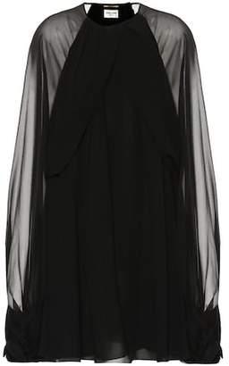 Saint Laurent Silk minidress