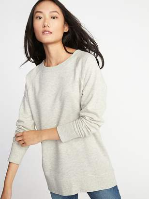 Old Navy French-Terry Boyfriend Tunic Sweatshirt for Women