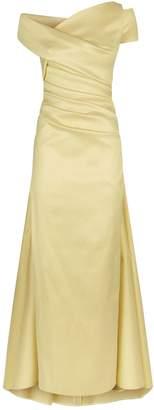 Talbot Runhof Shimmering Satin Gown