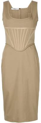 Givenchy fitted bustier dress