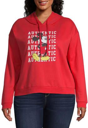 Freeze Authentic Mickey Mouse Sweatshirt - Juniors Plu