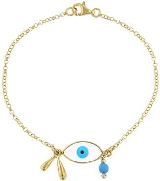 Ileana Makri EYE M by Evil Eye Raindrop Bracelet