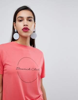 Whistles Exclusive Brunch Club Logo T-Shirt