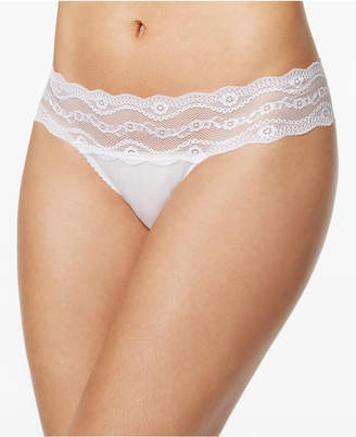 B.Tempt'd b.adorable Lace-Waistband Bikini 932182