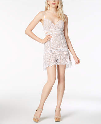 GUESS Forbidden Lace Mini Dress
