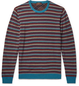 Altea Striped Wool-Blend Sweater